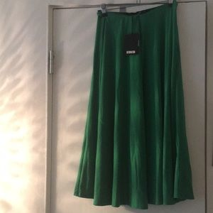 Reformation Matcha Medium Green Skirt